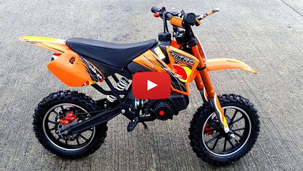 Video Review about Coyote 50cc Mini Dirt Bike Kids Motorbike