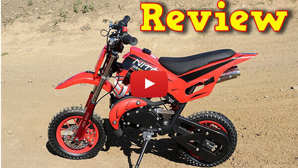 Video Review about DS67 50cc Mini Dirt Bike Kids Motorbike