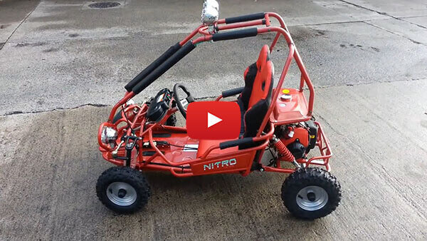 Video Review about 50cc Mini Buggy - Petrol Kids Buggy