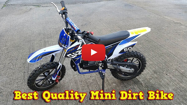 Video Review about Gazelle Deluxe 50cc Mini Dirt Bike Kids Motorbike