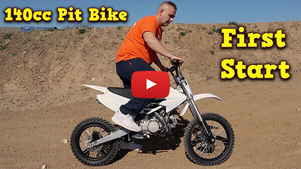 Video Instructions how to start engine in Drizzle 140cc PIT BIKE - DIRT BIKE - MOTORBIKE XL