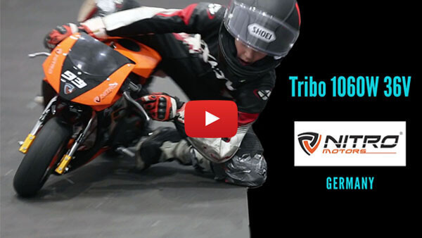 Tribo 1060W 36V electric pocket bike Nitro Motors