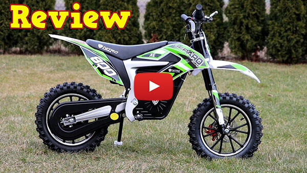 Video Review about  GEPARD 500W 24V Electric Dirt Bike Kids Motorbike
