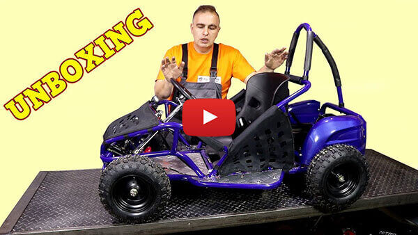 Video Instructions how to assemble GoKid 1000W 48V Kids Electric Mini Buggy