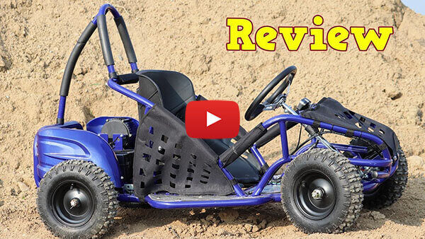 Video Review about GoKid 1000W 48V Kids Electric Mini Buggy