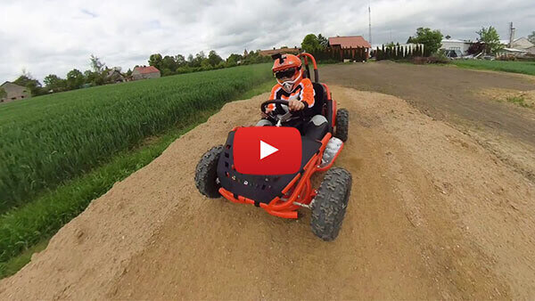 GoKid 80cc Buggy Tested on the Motocross Track