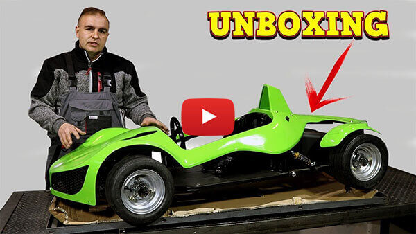 Video Instructions how to assemble GT Razer 1000W 48V Electric Mini Car
