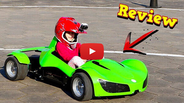 Video Review about GT Razer 1000W 48V Electric Mini Car