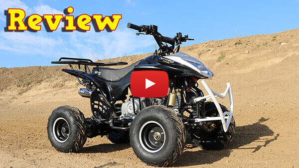 Video Review about Jumper RG7 125cc PETROL KIDS MIDI QUAD BIKE