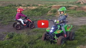 Fun on electric mini quads - ECO Bigfoot & ECO Repti 800W 36V