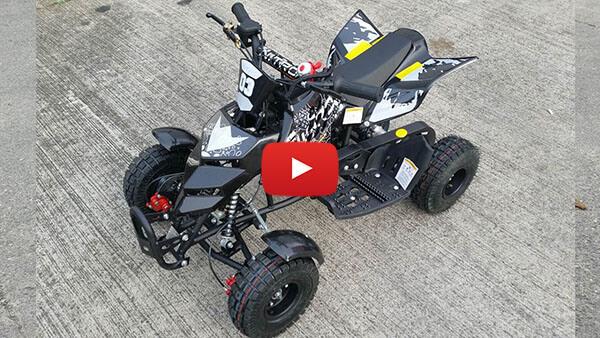 Video Review about Repti 49cc PETROL KIDS MINI QUAD BIKE