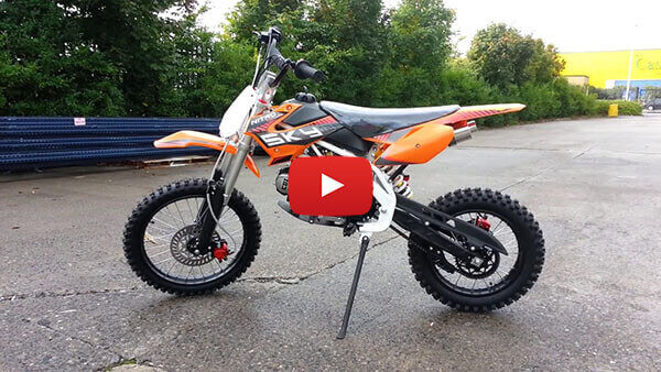 125cc Pit Bike Sky Nitro Motors Germany - 125 Dirt Bike