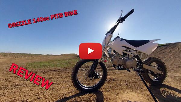 Video Review about Drizzle 140cc PIT BIKE - DIRT BIKE - MOTORBIKE XL