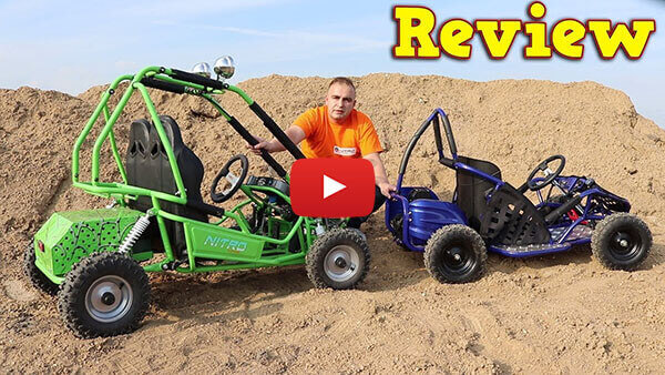 Video Review about 450W 36V Kids Electric Mini Buggy