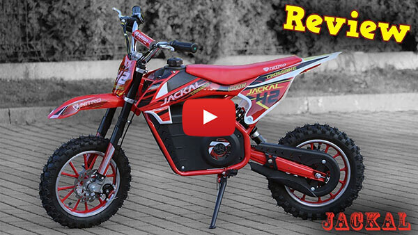 Video Review of new Electric Kids Motorbike JACKAL 1000W 36V
