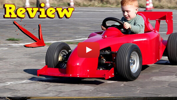 Video Review about Spy MF1 1000W 48V Electric Mini F1 Car