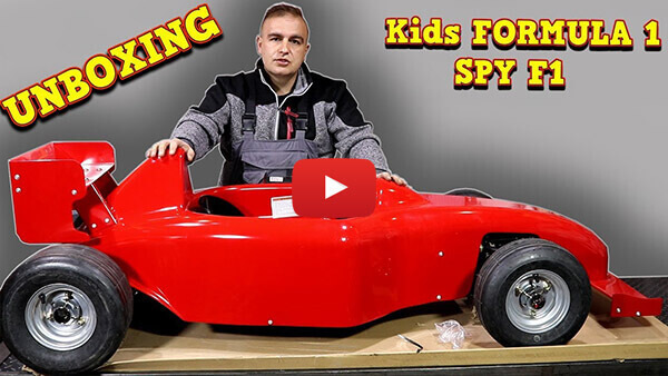 Video Instructions how to assemble Spy MF1 1000W 48V Electric Mini F1 Car