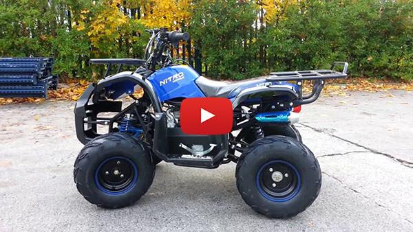 Video Review about Toronto RG7 125cc PETROL KIDS MIDI QUAD BIKE