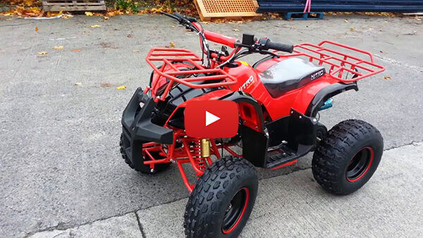 Toronto RG8 125cc Quad from Nitro Motors