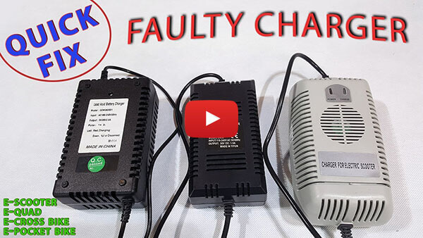 Video instructions how to repair faulty charger