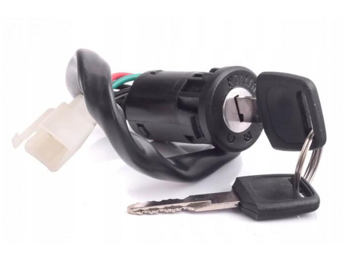 Ignition switch 4 pin female plug Pocket Bike, Dirt Bike, Quad, Cross
