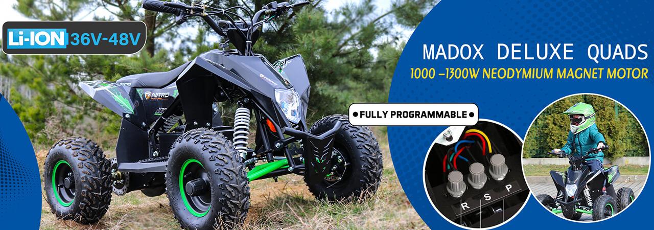 Baner Madox Deluxe 1300W 48V quad bike
