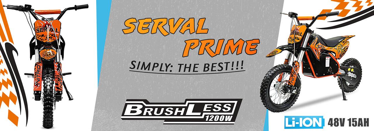 Baner Serval Prime 1200W 48V Dirt Bike