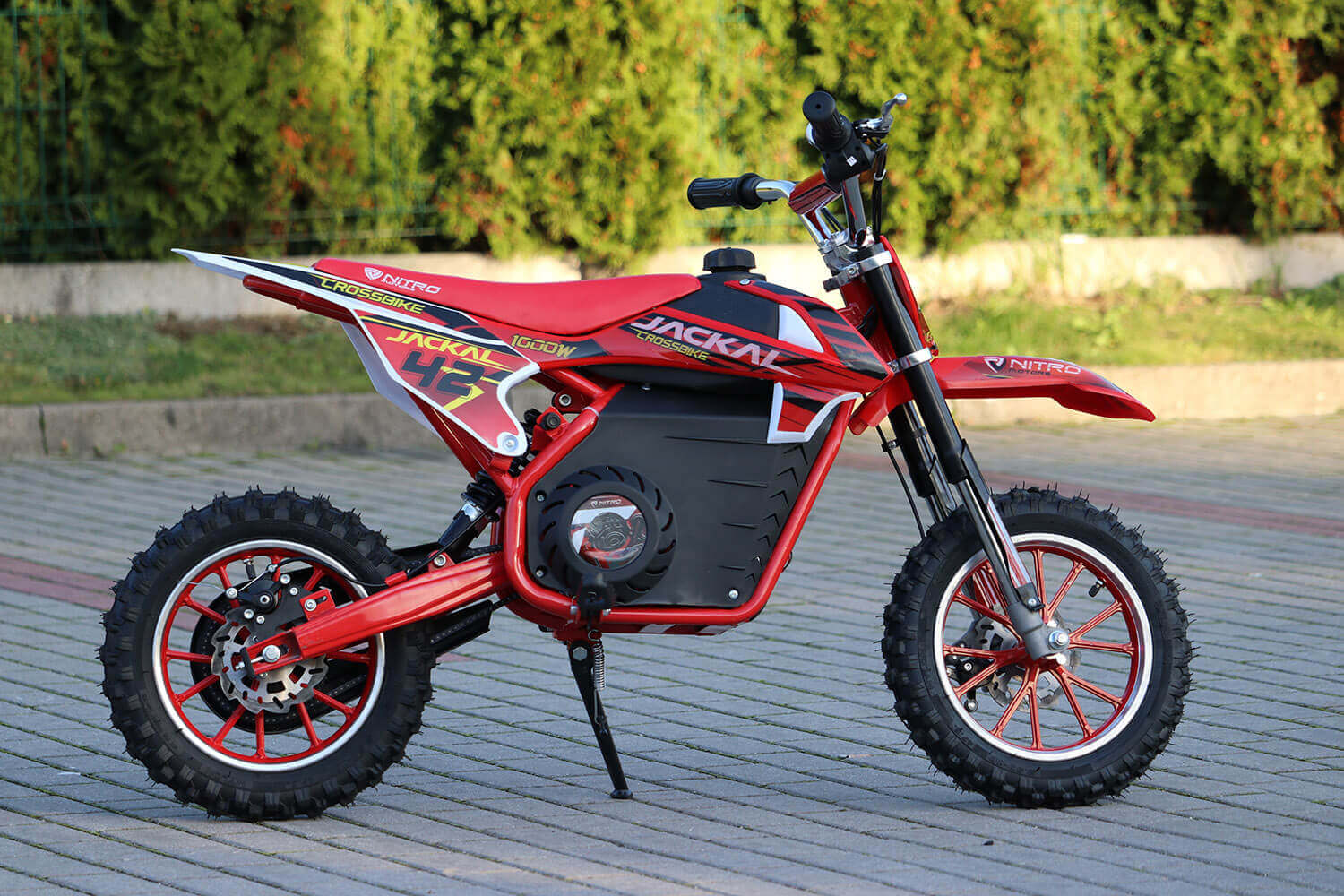Jackal 1000W 36V Electric Dirt Bike Kids Motorbike from Nitro Motors, Mini Bikes Store