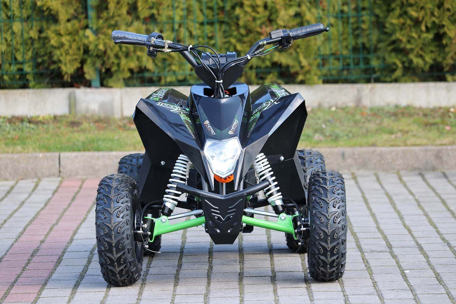 Madox Deluxe 1300W 48V Kids Electric Quad Bike Neodymium Magnet Motor, Lithium-Ion Battery from Nitro Motors1