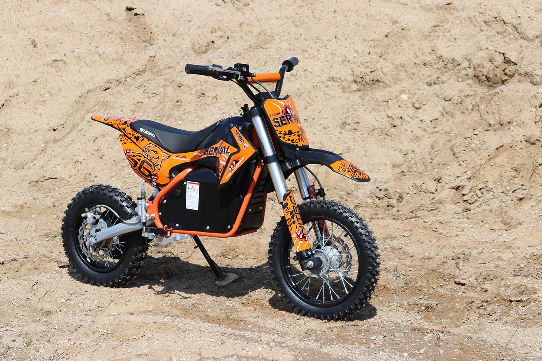 Serval Prime 1200W 48V Brushless Lithium-Ion Electric Dirt Bike Kids Motorbike from Nitro Motors, Mini Bikes Store
