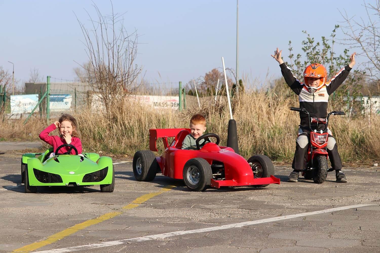 Spy F1 Mini Formula 1 for kids, Electric Go kart 1000W 48V, Car for children from Nitro Motors, Mini Bikes Store 3