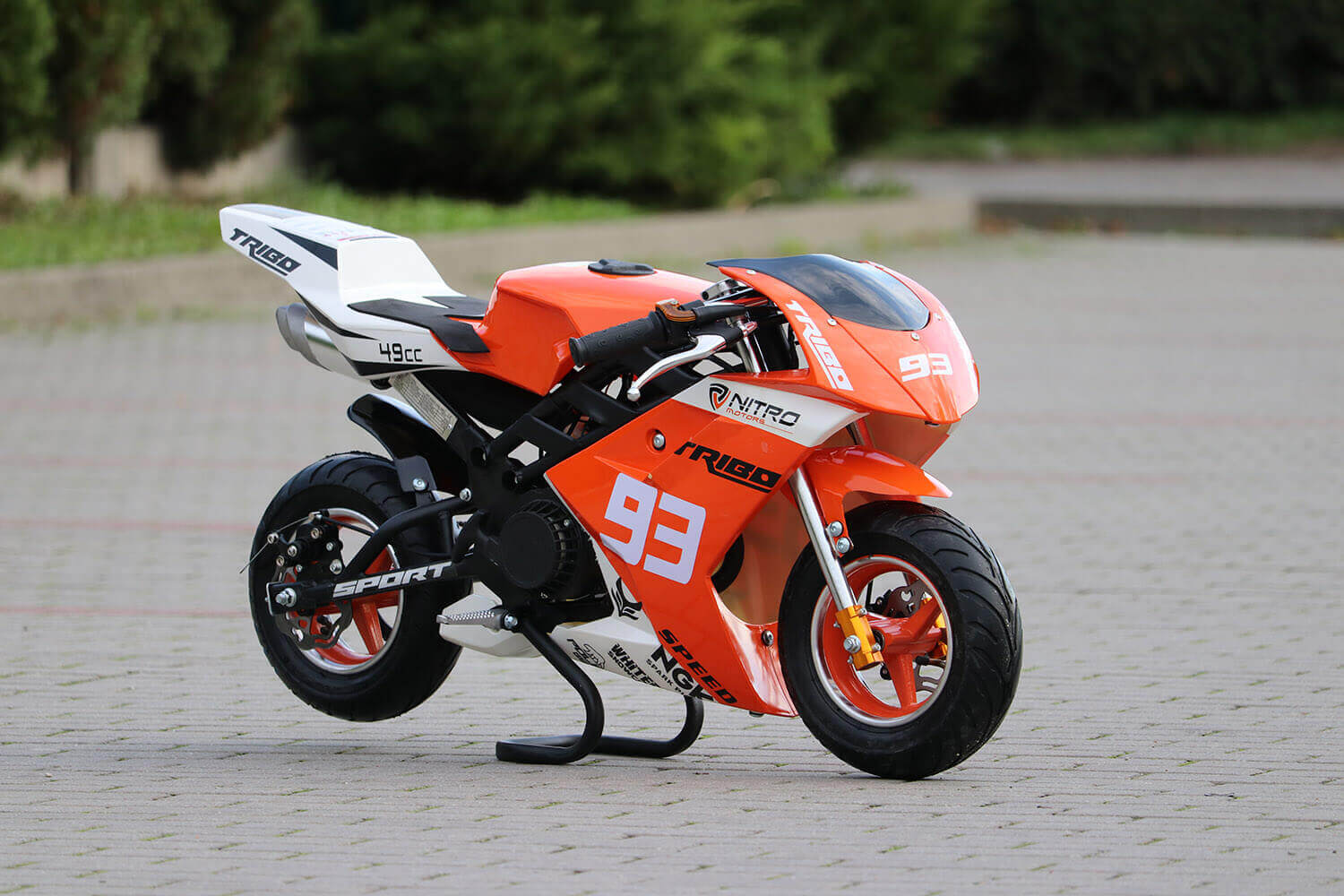 Tribo 50cc Pocket Bike Mini Moto Racing Bike from Nitro Motors, Mini Bikes Store