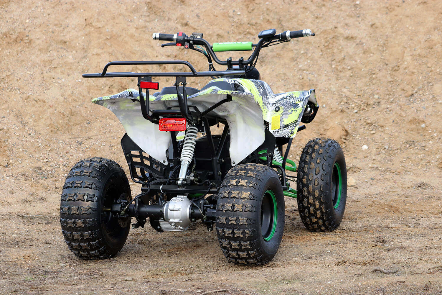 Warrior S8 1000W 48V Brushless XXL Large Kids Electric Quad Bike from Nitro Motors, Mini Bikes Store
