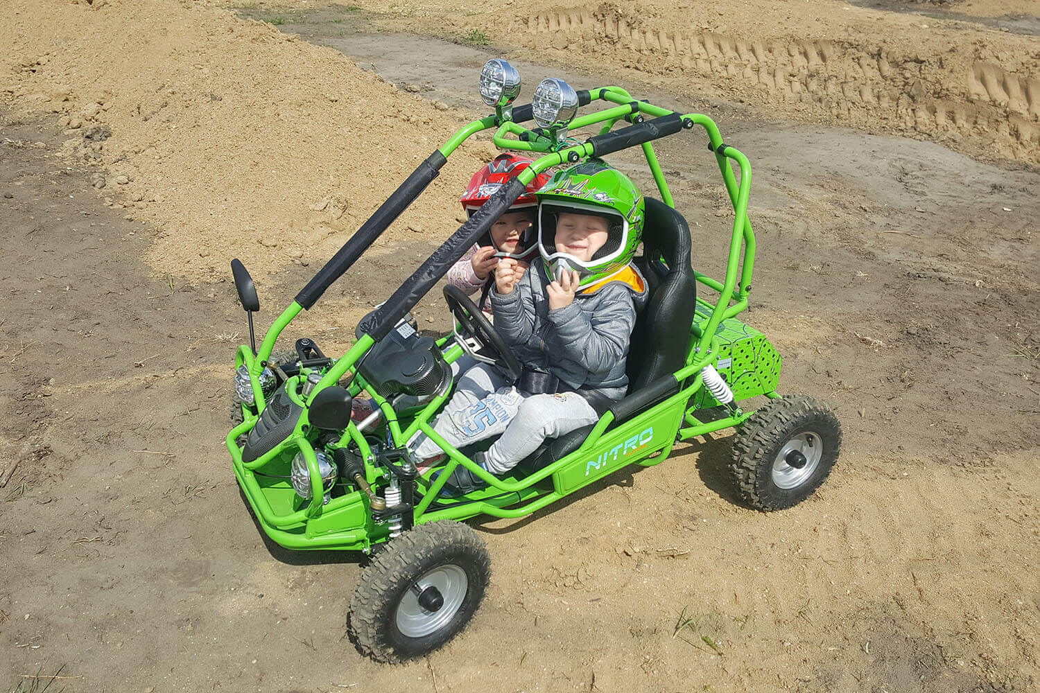 750W 60V Kids Electric Mini Buggy  from Nitro Motors, Mini Bikes Store