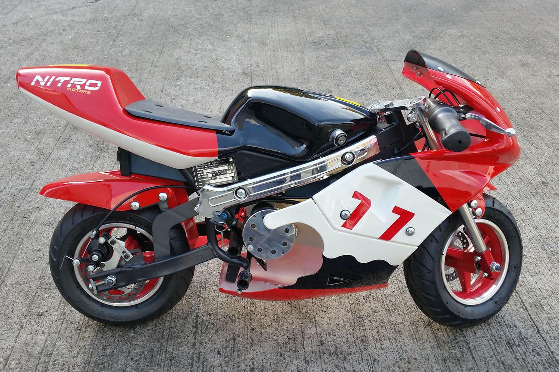 1000W 36V Electric Pocket Bike Mini Moto from Nitro Motors, Mini Bikes Store