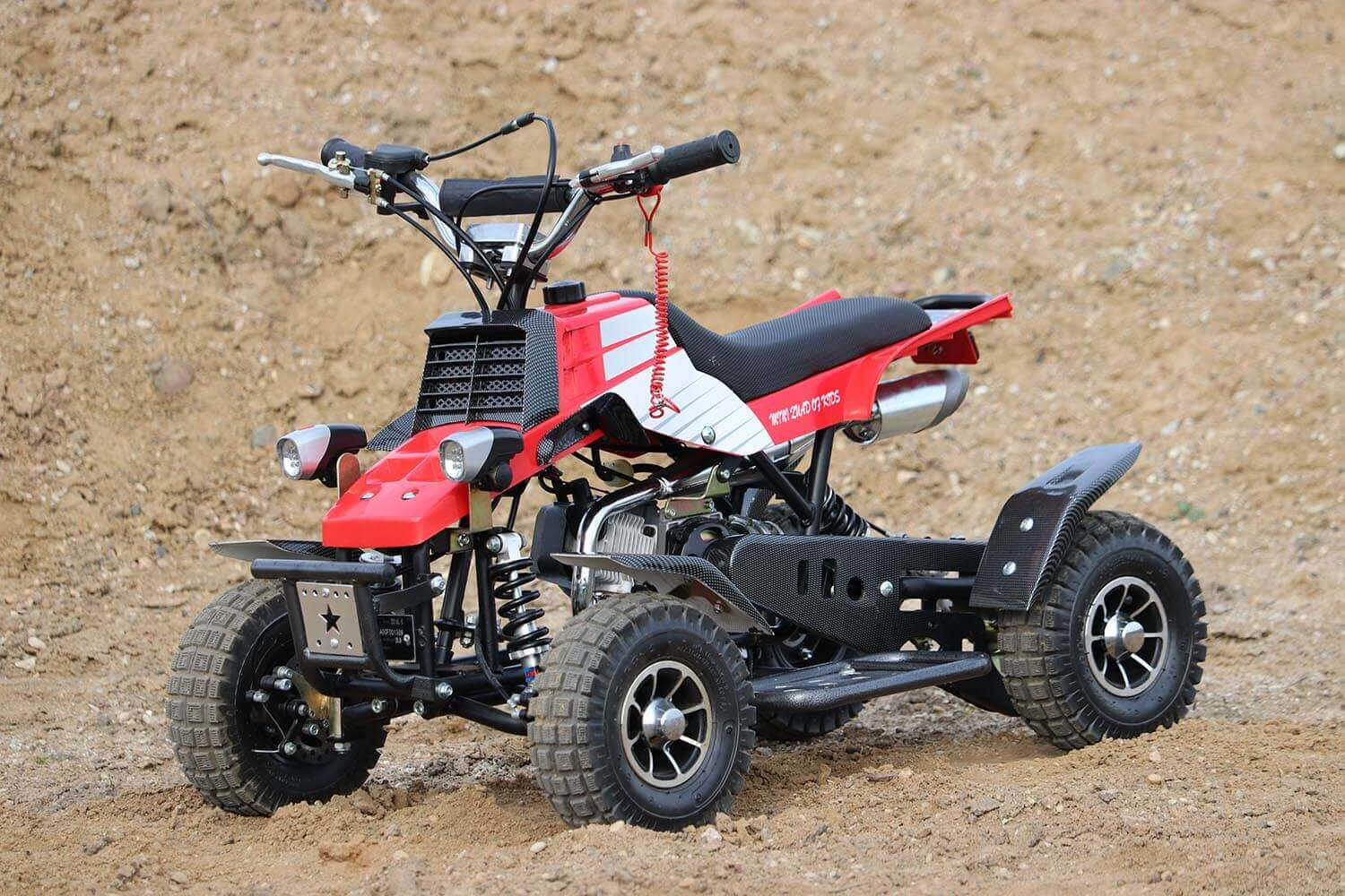 Quadro 49cc, 50cc Mini Yamaha Banshee Quad for Kids from Nitro Motors, Mini Bikes Store
