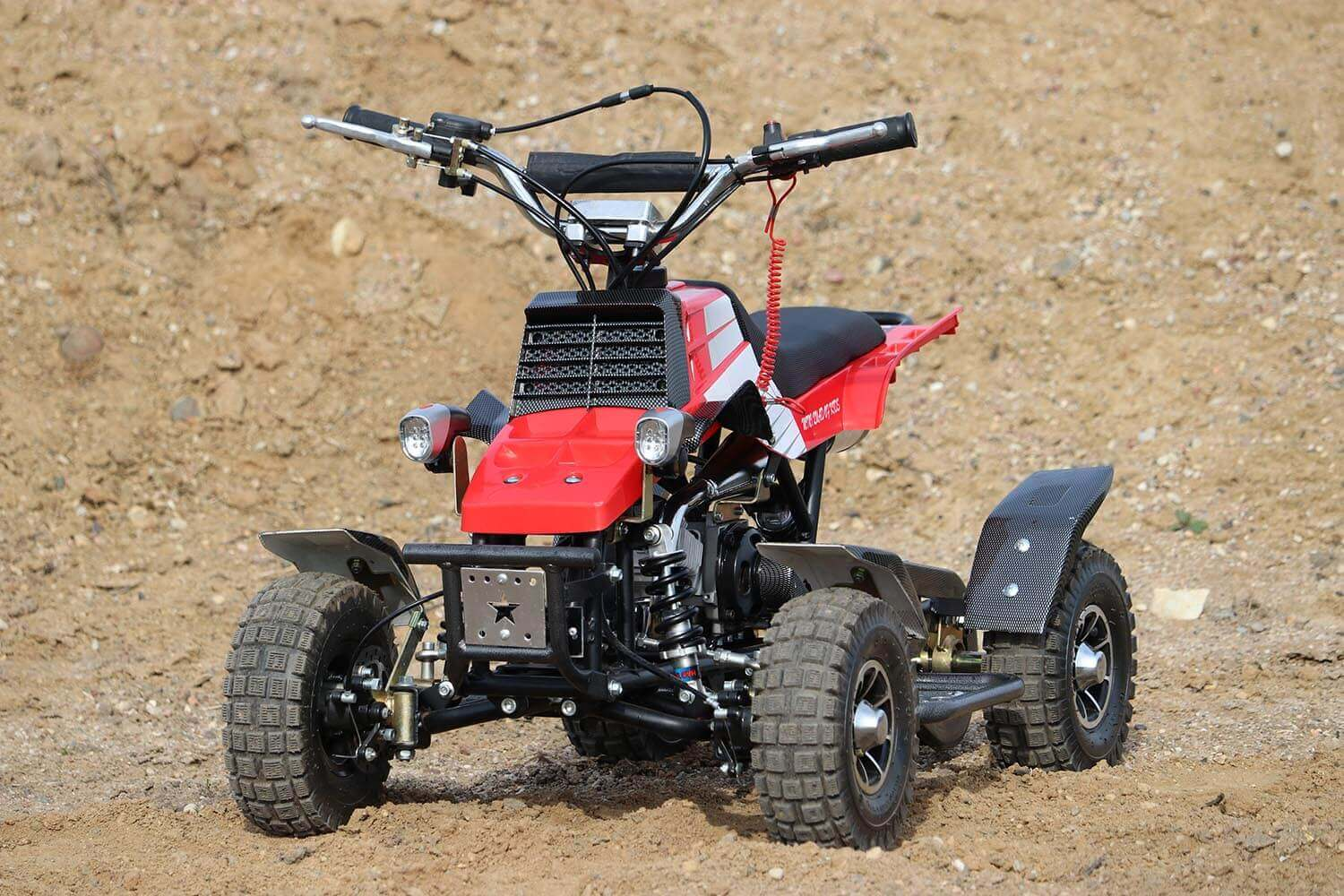 Quadro 49cc, 50cc Mini Yamaha Banshee Quad for Kids from Nitro Motors, Mini Bikes Store 1