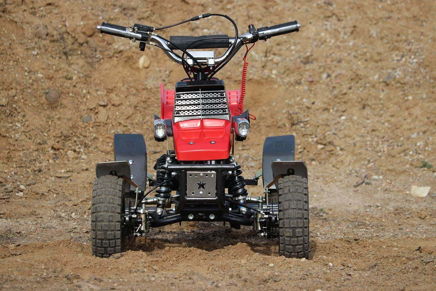 Quadro 49cc, 50cc Mini Yamaha Banshee Quad for Kids from Nitro Motors, Mini Bikes Store 2
