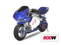 800W 36V Electric Pocket Bike Mini Moto