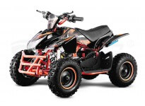 "Jumpy Premium 49cc 6"" PETROL KIDS MINI QUAD BIKE"