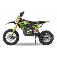 "Tiger 1000W - Eco Dirt Bike - 12/10"" Wheels - Hydraulic Shock Absorbers - Neodymium Magnet Motor"