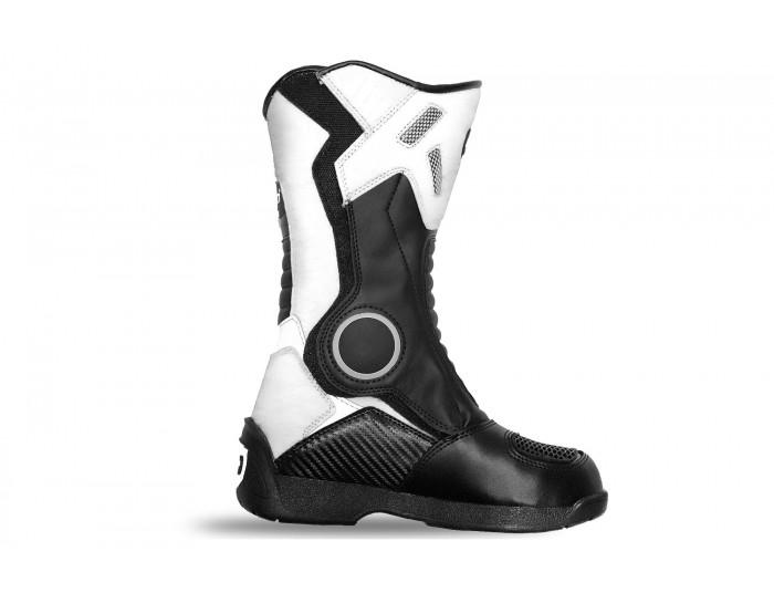 Kimo Junior Motocross Boots - White