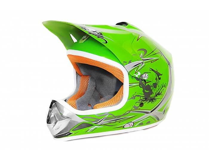 Xtreme Junior Motocross Helmet - Green