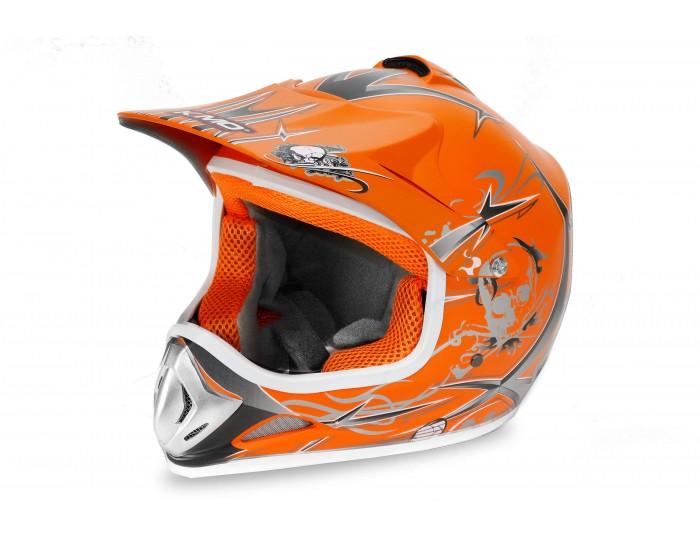 Xtreme Junior Motocross Helmet - Orange