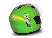 Junior Full Face Helmet - Green