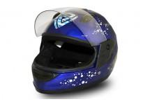 Junior Full Face Helmet - Blue