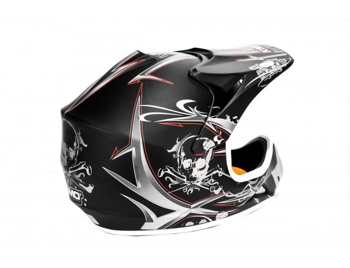 Xtreme Junior Motocross Helmet - Black