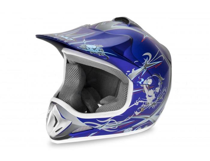 Xtreme Junior Motocross Helmet - Blue