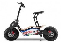 Velocifero MAD 1000 - 48V 1000W - Electric Scooter - 48V 12Ah Batteries - Wood Deck - Disc Brakes