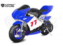 PS77 50cc Pocket Bike Mini Moto Racing Bike